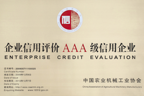 Enterprise Credit Evaluation: AAA